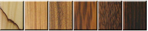 FEATURE WOOD material chart