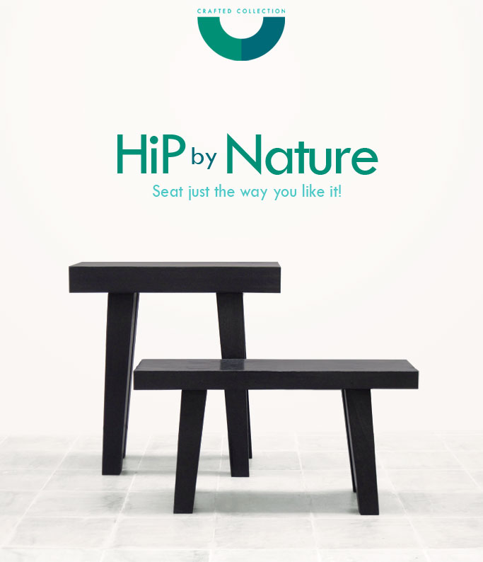 HiP – Reclaimed iron wood stool is inspired by the 'Dingklik' of the Indonesian Archipelagoes.  'Dingklik'  is the Javanese word of the mini low bench found in many indigenous households and used by people of all ages. Frequently accompanying the growing up phases of its owner, the 'Dingklik' often becomes an object of affection.